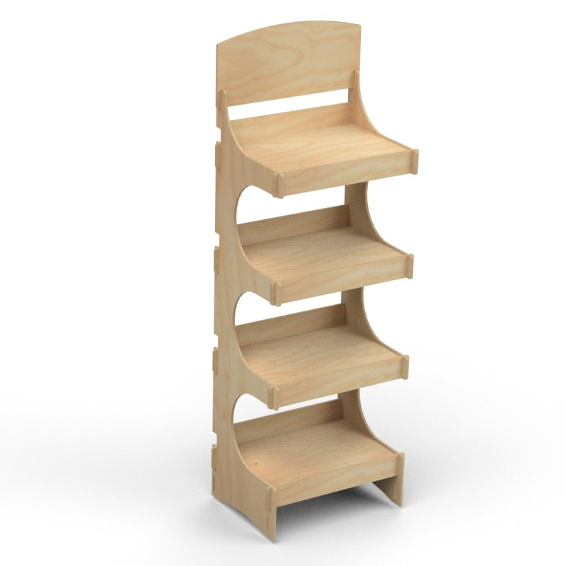 Wooden Display Stand ADELAIDE