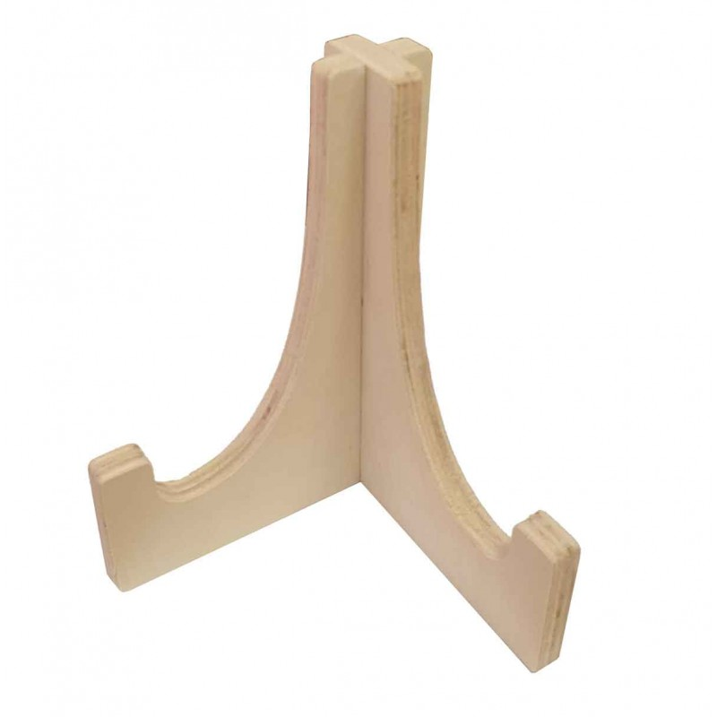 Timber Plate Display Stand