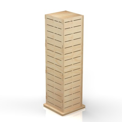 4 Way Timber Display Stand LAURA