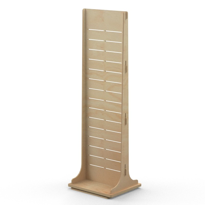 Double Sided Timber Display Stand BONDI