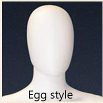 Egg Style head