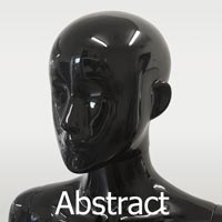 abstract head